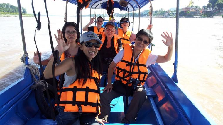 Boat trip in Chiang Rai