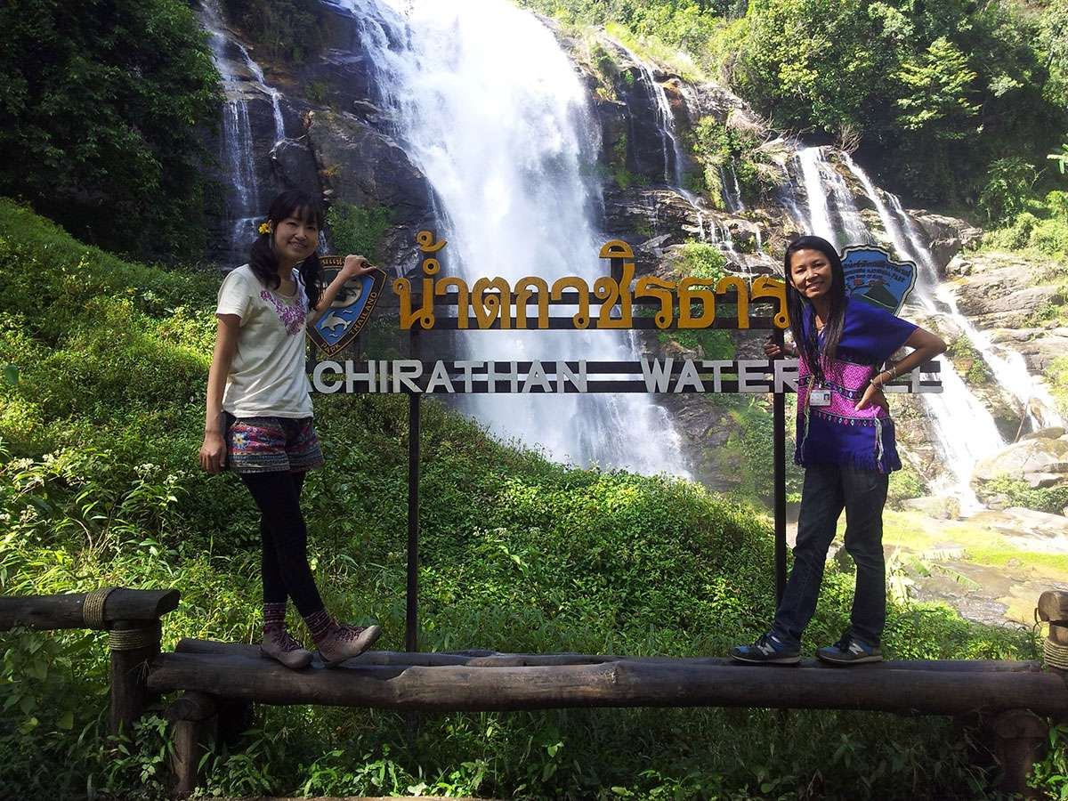 Wachirathan Waterfall in Doi Inthanon.