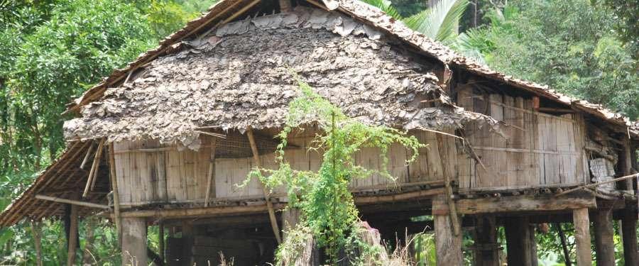 Karen Hill Tribe in Chiang Mai, Thailand