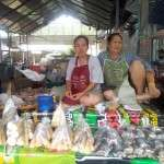 Local market in Lampang
