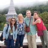 Allie is a tour guide in Chiang Mai.